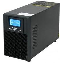 Phasak Rack On-Line PH9220 - Sistema de alimentación ininterrumpida (2000 VA, 3 x Schuko)