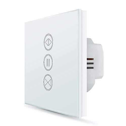 LoraTap Interruptor Persianas WiFi, Interruptor Táctil de Pared para Cortina Eléctrica Compatible...