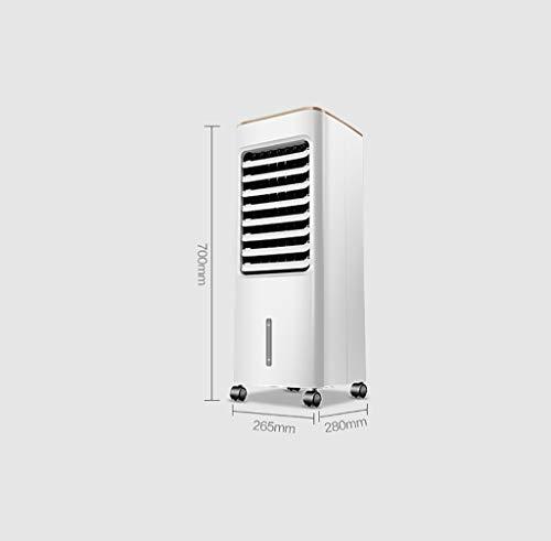 Elektrischer Ventilator Fans 50W industrielle Luftkühler Mobile Klimaanlage Hotel Internet Cafe Fabrik Commercial Befeuchtung Kühlung wassergekühlte Klimaanlage Wide Area Cooling