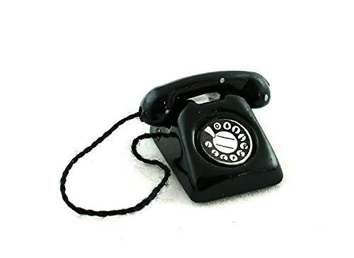 Schreibtisch Lounge Zubehör Retro Schwarz Telefon 5371 ()