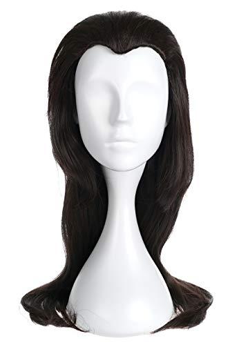 Kostüm Braun Sally - CoolChange Sally Face Perücke von Larry Johnson, Braun, 60cm