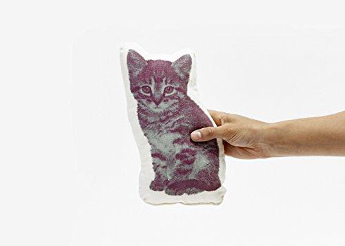 Areaware Pico Pillow Kitten Kissen, Stoff, mehrfarbig - 2