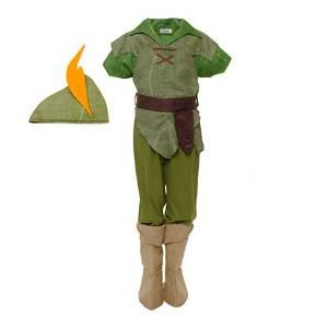 Handy Kostüm Kinder Manny - Disney original - Peter Pan - Kostüm für Kinder - Alter 7 - 8 Jahre