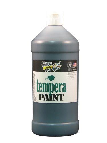 Handlich Art von Rock Farbe Tempera 907–Schwarz