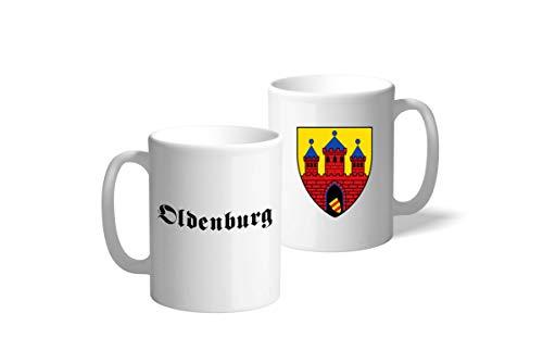 Dein Kiez Tasse Wappen: Oldenburg