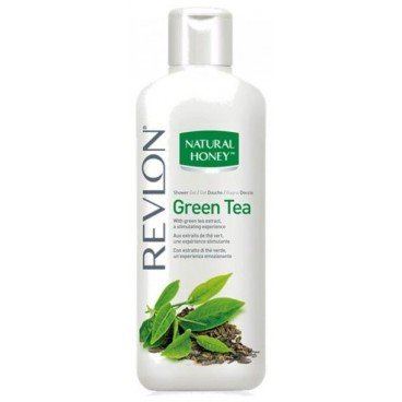 Revlon Natural Honey Shower Gel / Duschgel Green Tea (Grüntee) mit Grüntee Extrakt / stimulierend - 650 ml