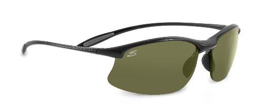 Serengeti Eyewear Sonnenbrille Maestrale, Shiny Black, M/L, 7712