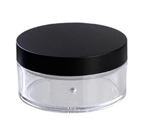 clear-50g-50ml-plastic-2-pcs-powder-puff-container-case-makeup-cosmetic-jars-face-powder-blusher-sto