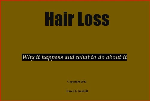 hair-loss-why-it-happens-and-what-to-do-about-it-english-edition