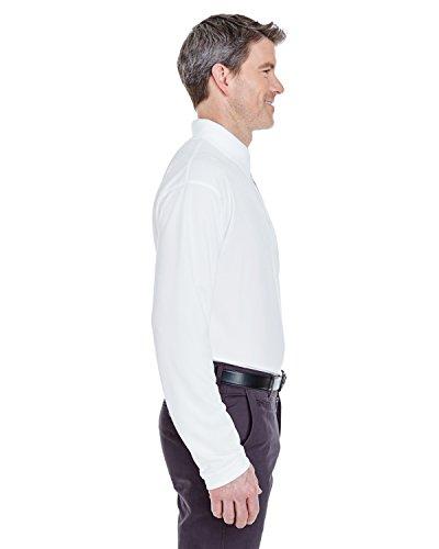 UltraClub Herren Poloshirt Weiß