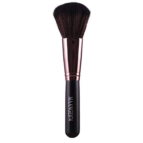 SynthéTique Fusion De Fond De Teint Concealer Eye Visage Liquide Poudre CrèMe1Pcs Maquillage Pinceau Brosse De Fond Poudre Blush Maquillage Brosse CosméTique Concealer Cosmetics Brush