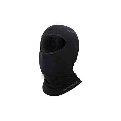 Wisser Thermo-Sturmhaube Skimaske mit dem hochentwickelten System für die Schweißabgabe ideal für Wintersport