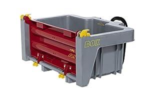 Rolly Toys RollyToys 408948 - Remolque para Tractores Infantiles (función de volquete, para niños de 3 a 10 años), Color Gris y Rojo