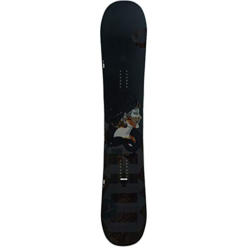 Rossignol - tavola da snowboard jibsaw heavy duty wide da uomo, grigio, grigio, 162 cm