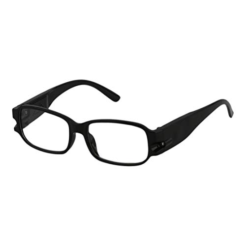 Universal Männer Frauen Lesebrille Magnetfeldtherapie Harz Objektiv Presbyopie Brillen Brille Mit LED-Licht