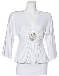 Apart Fashion–Long T-shirt, Couleur Blanc