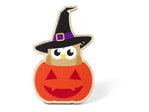 us Holz für Kinder *** Halloween Eule *** ()