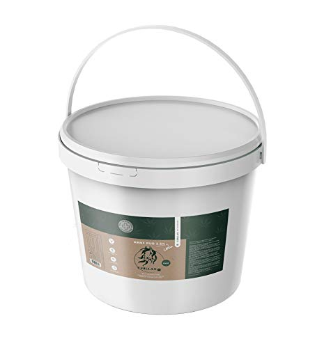 CHILLAX cáñamo para Caballos   2,5% CBD   suplemento alimenticio para relajación   calidad premium   a base de cáñamo natural