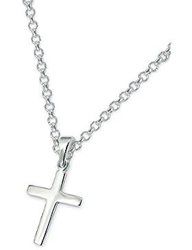 Laimons Damen-Anhänger Kreuz glanz mit Kette 45cm Sterling Silber 925