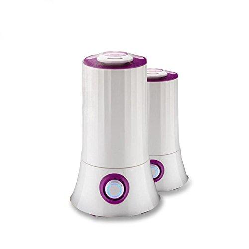 YL Humidificador Purificador de Aire Casa Mute Dormitorio Duradero de Gran Capacidad de la Máquina de Aromaterapia,Púrpura,Un tamaño