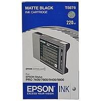 0010343853522 220ml Tinte mattes schwarz f.Stylus Pro 7800/9800/7880/9880