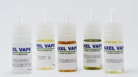 Kit aromi tabaccosi axelvape 10ml x 5 v2