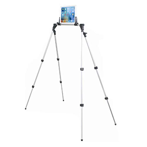 Hemobllo Faltbarer tragbarer Stand-Halter-Justierbare Multifunktionsklammer für Telefon ipad Tablette (301L) -