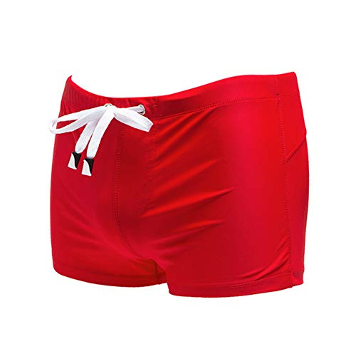 Meerway - Bañador para Hombre, diseño de Camuflaje Rojo 8# Red XX-Large