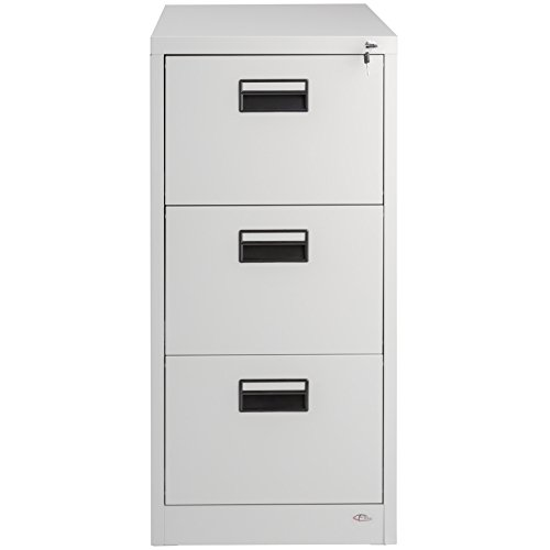 TecTake Hängeregisterschrank Aktenschrank mit 3 Schubladen abschließbar (HxBxT) ca. 62,5x46x103 cm - 2
