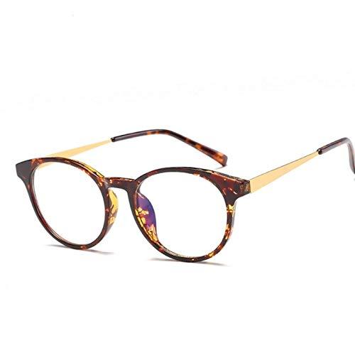 GPZFLGYN Anti-Blau Computer Gläser Anti-Fatigue Mode Lesebrillen Anti-Blau Strahlen Optische Gläser Rahmen Brillen FrauenCat Eye Rahmen Ultra Light Frame Klarglas