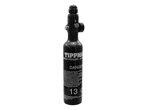 Tippmann 0,2L (13ci) Metall HP Tank/Flasche mit Regulator (klein) [Fülldruck: 3000psi] -