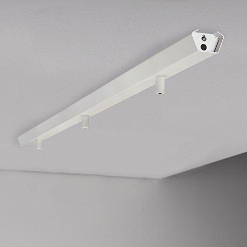 LICHT-TREND Combo / 3er Metall-Schiene / 113 cm / weiss