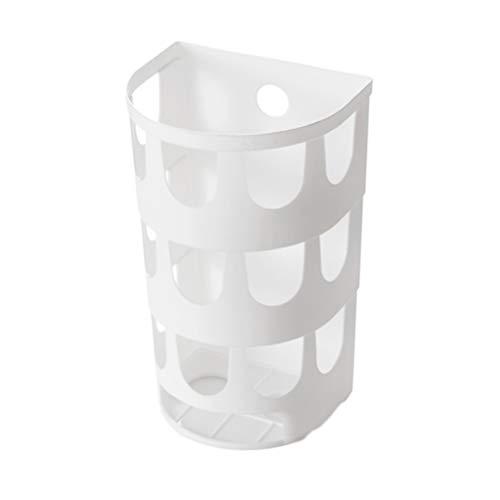 Vosarea Grocery Bag Storage Holder - Dieser große Kapazität Bag Dispenser Wird ordentlich Speichern Einkaufstaschen und halten sie handlich für die Wiederverwendung (weiß)
