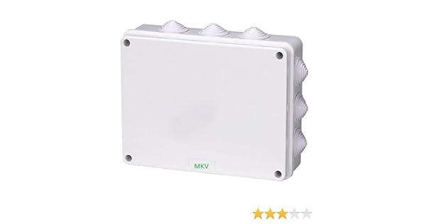 SENRISE Bo/îte de jonction /électrique /étanche IP55 50 x 50 mm