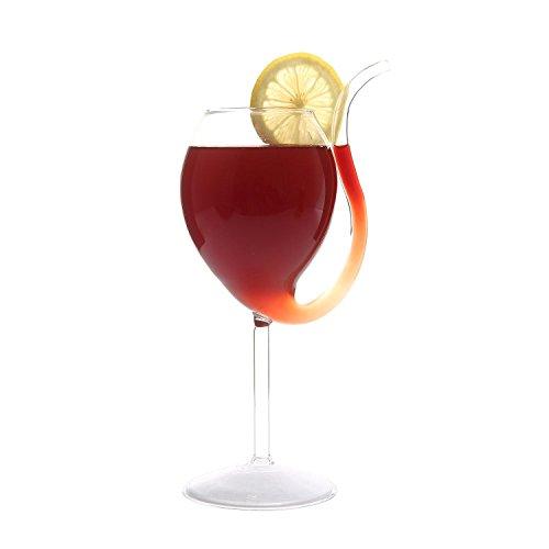 Aolvo Filter Vampire Glas Wein Rot, Portwein-sippers Glaswaren, Porto sippers, Hand, bleifreies Kristall Glas, Wein-Zubehör Goblet