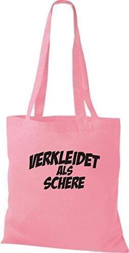 Camicia Di Stoffa Di Stoffa Di Carnevale Travestita Da Forbici, Abito Di Costumi, Molti Colori Rosa