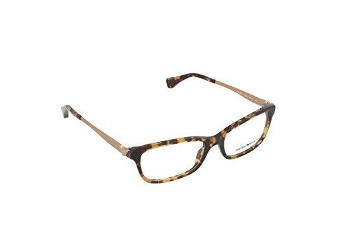 Ray-Ban Damen 0EA3031 Brillengestelle, Braun (Yellow Havana), 53