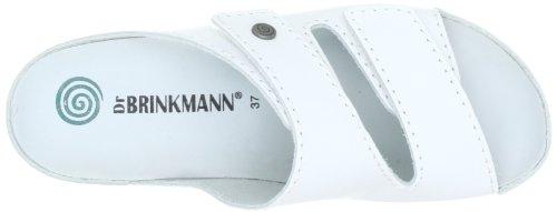 Dr. Brinkmann 703790 Damen Pantoletten Weiß (Weiß)
