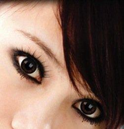 Crazy Beauty Colour Color Contact Lens lenses Farbig Kontaktlinsen lentille for Halloween XMAS Party Cosplay (((PRETTY HAZEL))) Brown ziemlich Hasel jolie noisette braun brun Puppe poupée Schönheit beauté Big eyes große Augen grands yeux uk