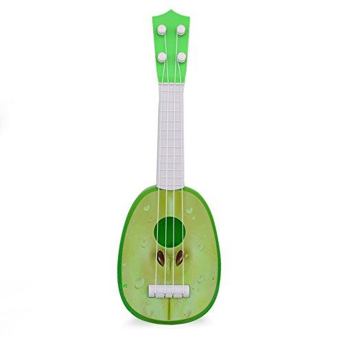 eihnachten Geburtstag kinder Geschenk Mini Fruit Shaped Gitarre Ukulele Pädagogisches Musikinstrument Kinder Spielen Lustige Spielzeug ()