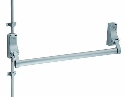 Carlisle Brass XDB5760SV Single panic bolt with dogging device silver - Silver