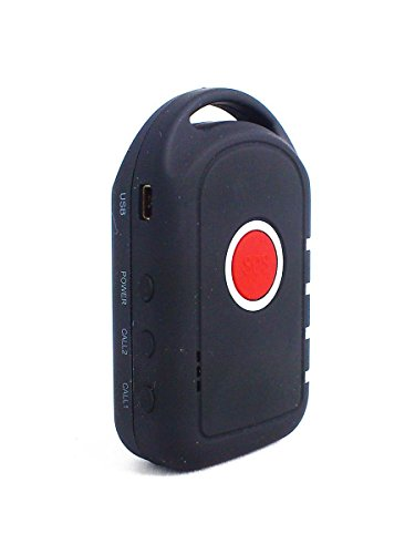 Yatek TL-206 - Localizzatore GPS-GSM portatile Ideale per persone anziane o con malattia di Alzheimer.