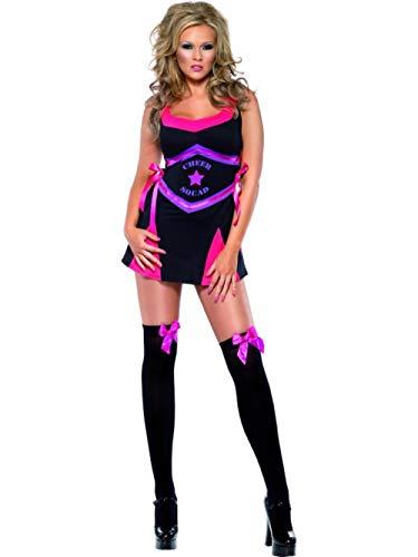 Magic Box Int. Erwachsene Größe Purple USA Cheerleader Kostüm Medium (UK ()