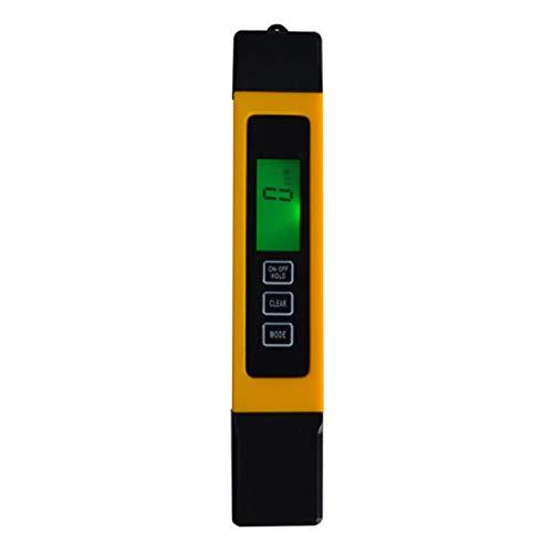 Calidad del Agua Pureza, 0-9990 ppm, 3 en 1, LCD Digital TDS 3 Metros, TDS, CE...