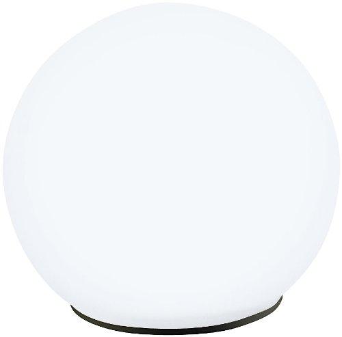 Lunartec Leuchtkugeln Garten: Solar-Glas-Leuchtkugel mit LEDs & Dämmerungsautomatik, Ø 9 cm (LED Leuchtkugeln)