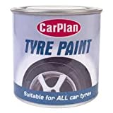 CarPlan Autoreifenfarbe, 250 ml