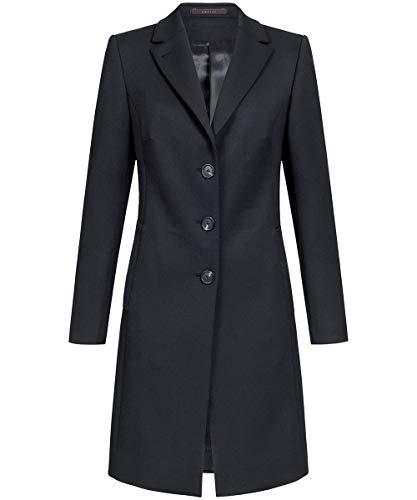 GREIFF Damen-Wollmantel 1844 Outdoor Regular Fit - Schwarz - Gr. XXL (Regen Anzug Kostüm)
