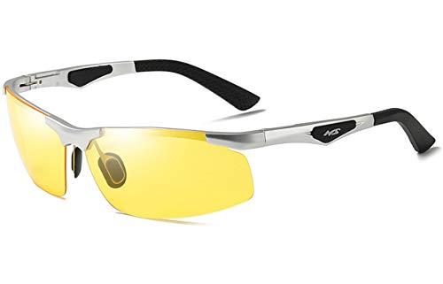 Saino Anti-Strahlung Blendschutz Schutz Prämie Komfortabel Katzenauge Outdoor Uv Schutz Metallrahmen Outdoor-Brille Sonnenbrillen