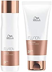 Wella Professionals Wella Professionals Fusion Intense Repair Shampoo 250 Ml and Conditioner 200ml Duo For Dam