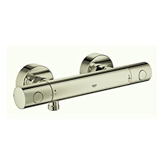 31HQBMfYNZL. SS324  - Grohe Grohtherm 1000 - Cosmopolitan M termostato ducha visto Polished Nickel